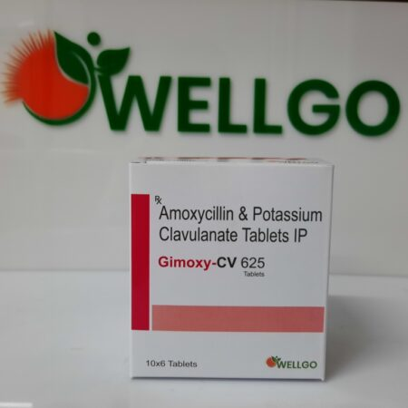 Amoxicillin 500mg + Potassium Clavulanate 125mg tablets