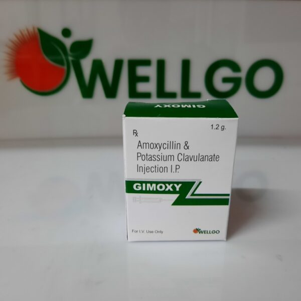 Amoxycillin 1gm+ Potassium clavulanate 200mg INJECTION PCD
