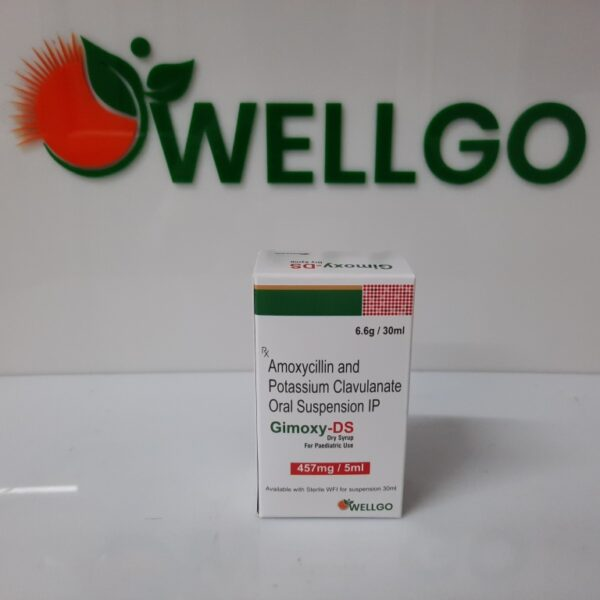 Amoxycillin 400Mg + Potassium Clavulanate 57Mg dry syrup