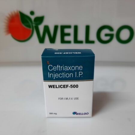 Ceftriaxone Sodium Sterile 500mg DRY INJECTION