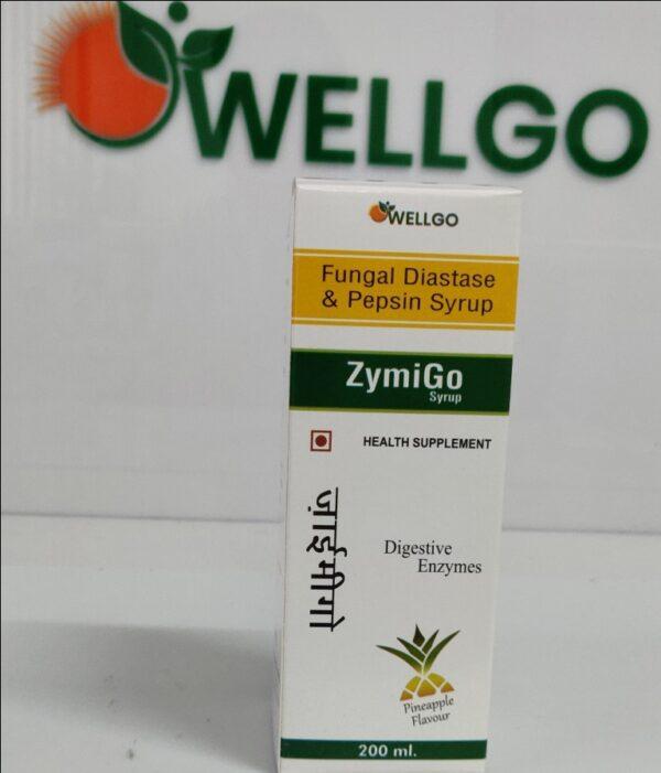 FUNGAL DIASTASE + PEPSIN syrup