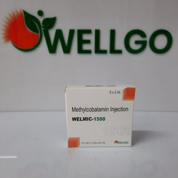 Methylcobalamin 1500 Mcg INJECTION TRAY PACK