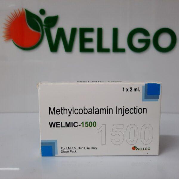 Methylcobalamin 1500 Mcg INJECTION DISPO PACK