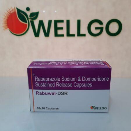 Rabeprazole Sodium 20mg + Domperidone 30mg sustained release capsules