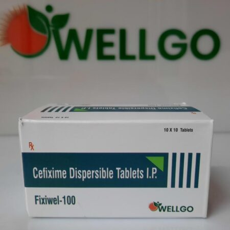 Cefixime Trihydrate 100mg TABLETS PCD