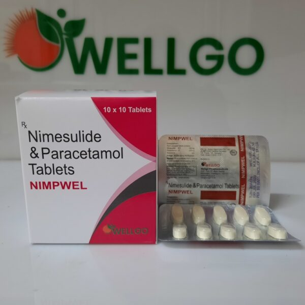 Nimesulide 100Mg + Paracetamol 325Mg Tablets PCD