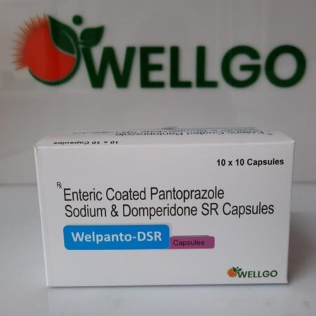 Pantoprazole and domperidone SR capsules