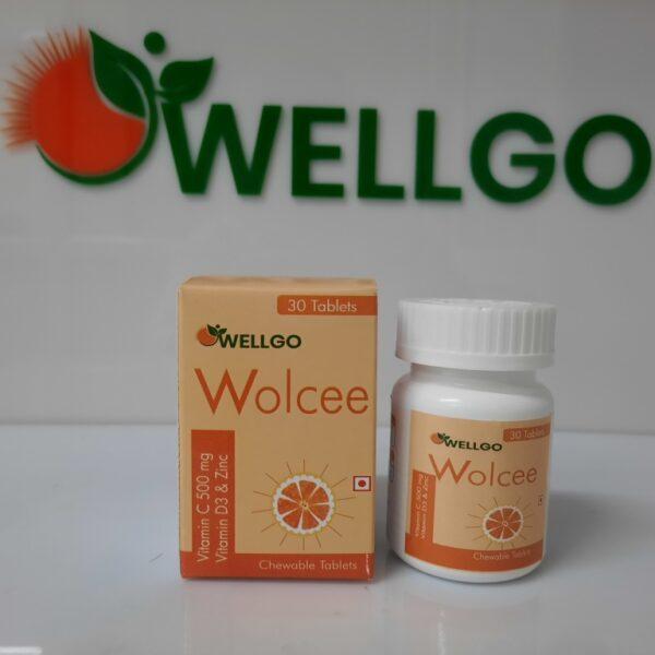 vitamin c+vitamin D3 + zinc tablets PCD
