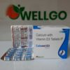 Calcium 500mg+ Vitamin D3 250 Iu PCD
