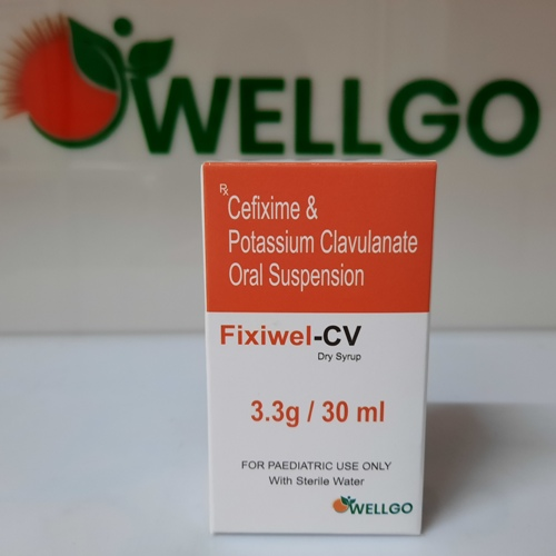 Cefixime 50Mg + Clavulanate 31.25Mg Dry Syrup With WFI