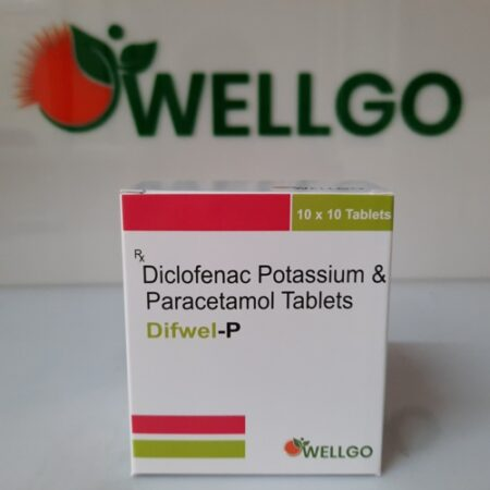 DICLOFENAC potassium 50Mg + Paracetamol 325Mg Tablets