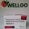 Drotaverine 80Mg + Mefenamic 250Mg Tablets