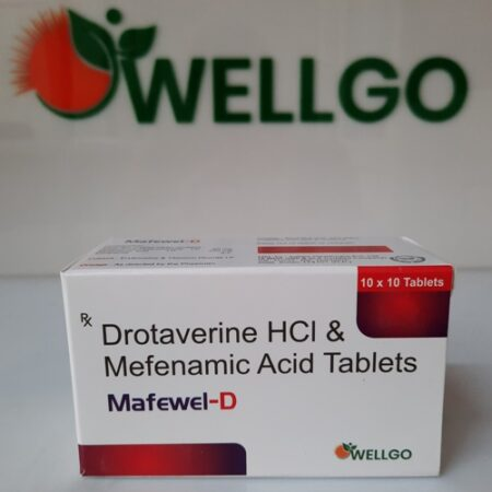 Drotaverine 80Mg + Mefenamic 250Mg Tablets