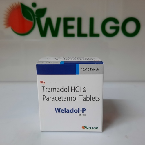 Tramadol Hcl 37.5mg +Paracetamol 325 Mg TABLETS