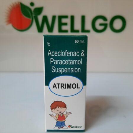 Aceclofenac 50mg+ Paracetamol 125mg SYRUP