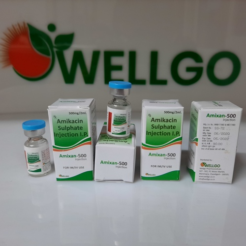 Amikacin 500 INJECTION PCD