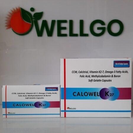 Calcium K27 softgel capsules