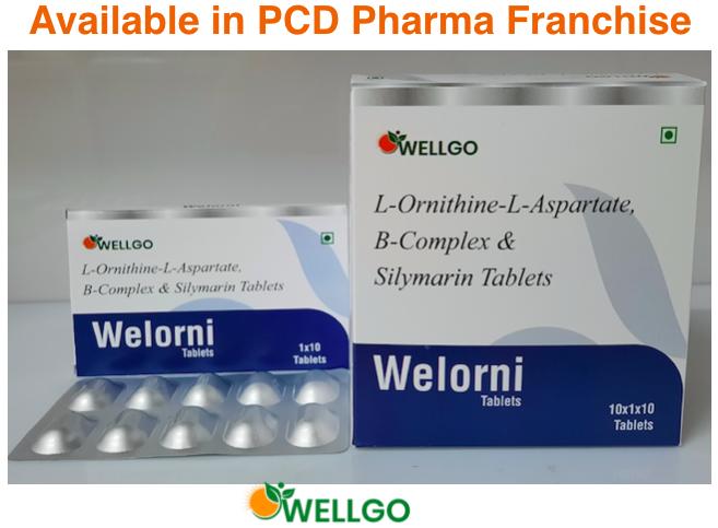 L-ornithine - L- Asparate B-Complex & Silymarin Tablets