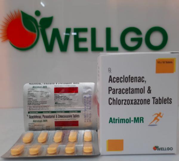 Aceclofenac Paracetamol Tablets PCD
