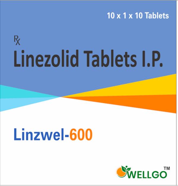 Linezolid 600 tablets