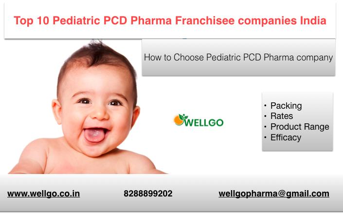 Top Pediatric Pharma Franchise
